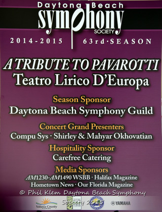 DBSS Tribute to Pavarotti 2015