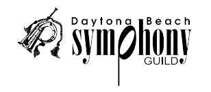 Daytona Beach Symphony Guild Logo
