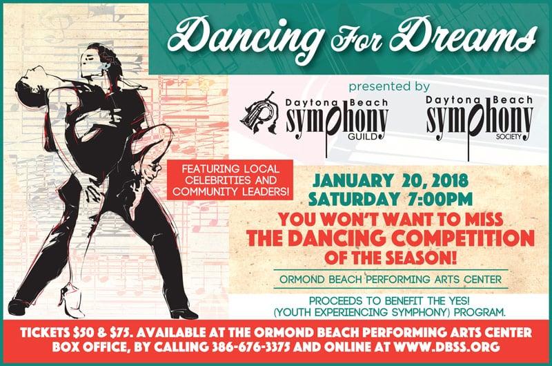 Dancing for Dreams Flyer